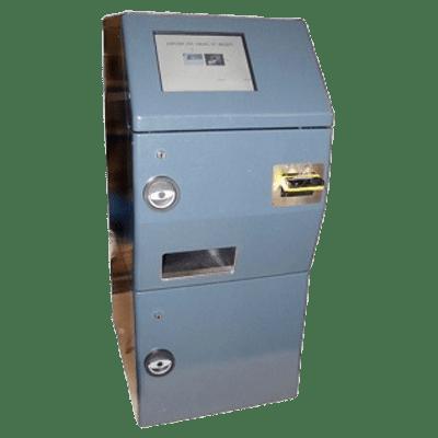 Automate de dépôts de pièces et de billets ECD
